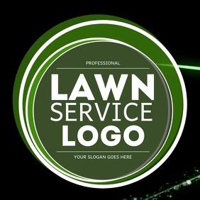Professional Lawn Service company Logo