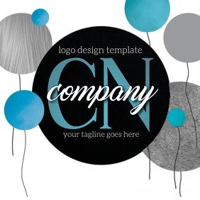 professional logo design template Logotyp