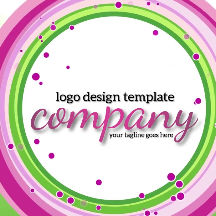 professional logo design template โลโก้