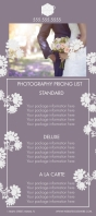 Professional Photography Rack Card template