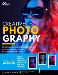 Professional Photography Services Рекламная листовка (US Letter) template