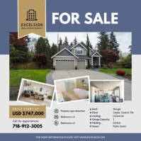 Professional Real Estate Agency Advertisement