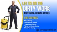 Professional service Visitenkarte template