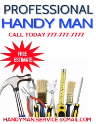 professional service handy man