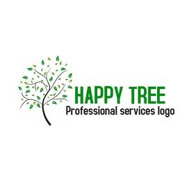 Professional service tree logo