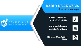 professional services business card design te Wizytówka template