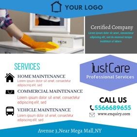 Professional Services Video Square Ad