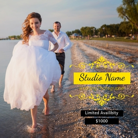 Professional Wedding Photography Flyer