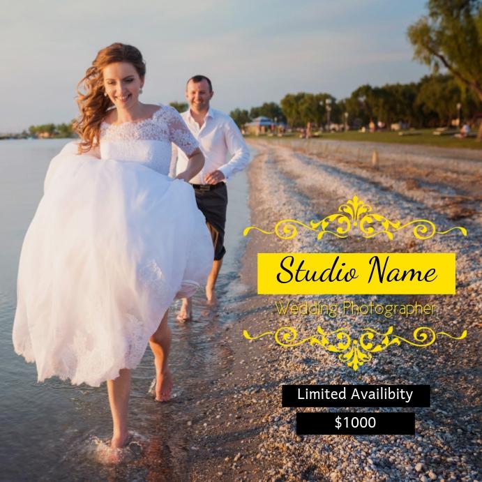 Professional Wedding Photography Flyer