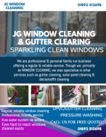 Professional Window Cleaning Flyer Template