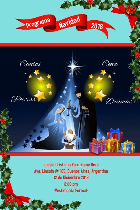 Programa Navidad Christmas Program