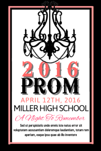 design a prom poster in no time