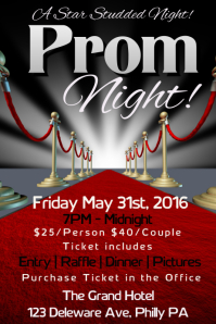 21 290 customizable design templates for prom event postermywall