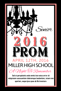 Customizable Design Templates for School Dances | PosterMyWall