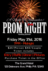 100 customizable design templates for prom postermywall