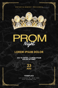 Prom Gala Night Flyer Template Poster