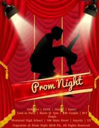 Customizable Design Templates For Prom Flyer Postermywall