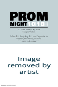 customizable design templates for prom invitation postermywall