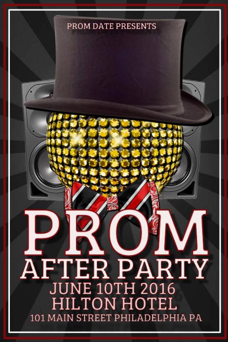 Hotel Party Flyer Onweoinnovate