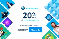 Promo Code Offers template
