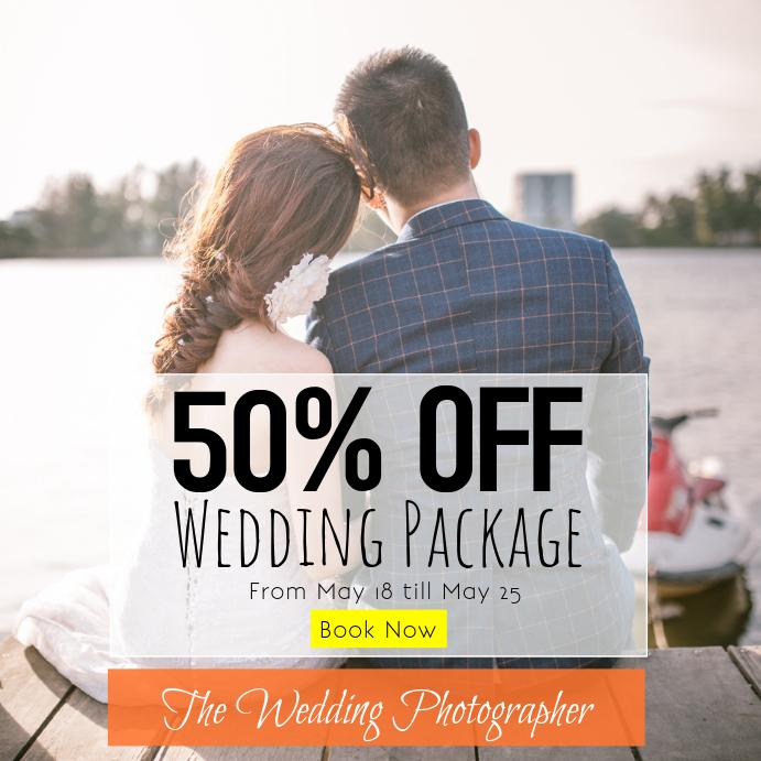 Promo Wedding Photography Template