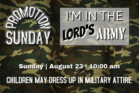 Promotion Sunday