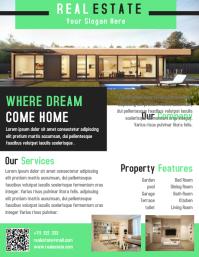Property Flyer Template Design