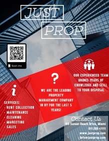 Property Management Flyer Red