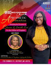 Prophetic Elevation Flyer