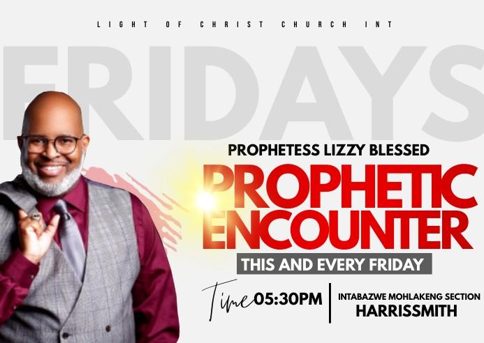 Prophetic encounter Postal template