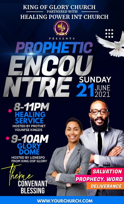 Prophetic encounter Oficio US template