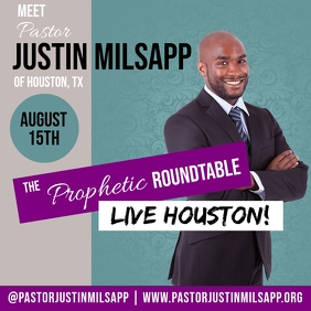 PROPHETIC ROUNDTABLE CHURCH FLYER