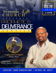 Prophetic Service Flyer