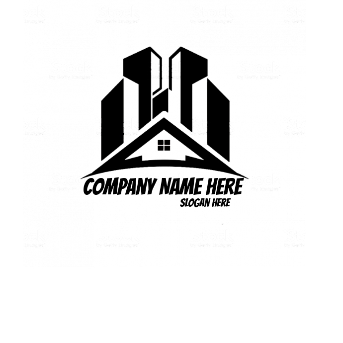 propiedad Logo template