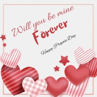 propose day Instagram Post template