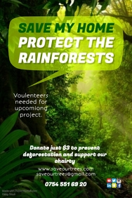 Protect Our Rainforests