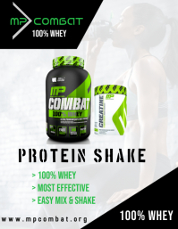 Protein Shake ad