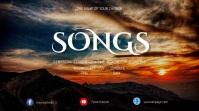 Psalms sermon series Digitalanzeige (16:9) template