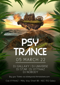 Psy Trance Electronic Music Goa Party Outdoor
