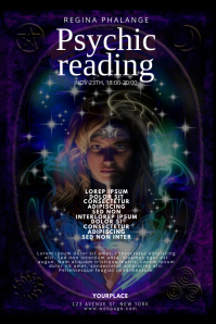 Psychic Reading Flyer Design Template
