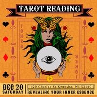 Psychic Tarot Reading Instagram Template