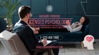 Psychologist Digital Display (16:9) template