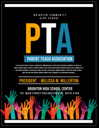 customizable design templates for pta postermywall