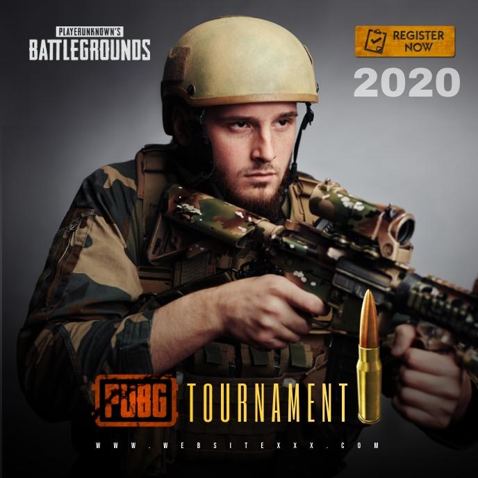 PUBG Game Tournament poster