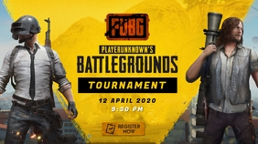 PUBG Game Tournament YouTube Thumbnail