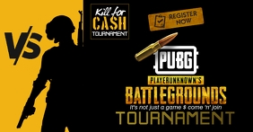 pubg gaming posters Facebook Shared Image template