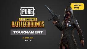 PUBG Tournament Poster