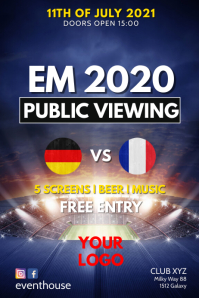 Public viewing event bar Club restaurant Em