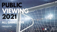 Public Viewing Soccer Watch Live Stream Event