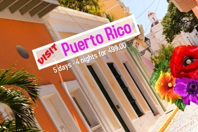 Puerto Rico/tourism/travel/agent/package